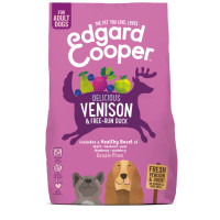 EdgardCooper Venison & Duck Grain Free Adult Dog Food 2.5kg