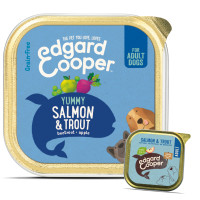 EdgardCooper Salmon & Trout Grain Free Wet Adult Dog Food 150g x 11