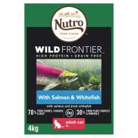 Nutro Wild Frontier Salmon & Whitefish Dry Adult Cat Food 4kg