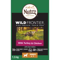 Nutro Wild Frontier Turkey & Chicken Dry Puppy Food