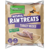 Natures Menu Turkey Necks Raw Frozen Natural Dog Treat 2 Pieces