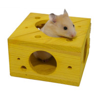Rosewood Sleep n Play Cheese Small Pet Toy