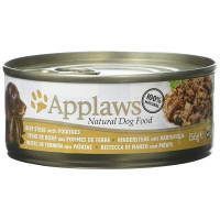 Applaws Beef Steak with Potato Tins Wet Dog Food 156g x 12