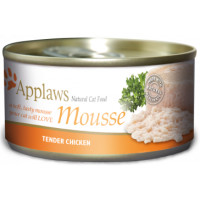 Applaws Chicken Mousse Cat Food 70g x 24