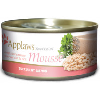 Applaws Salmon Mousse Cat Food 70g x 24