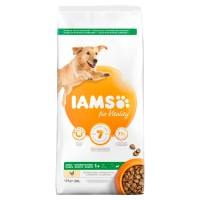 IAMS for Vitality Chicken Large Breed Adult Dog Food 12kg x 2