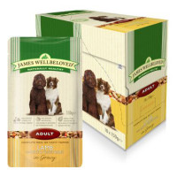 James Wellbeloved Lamb & Rice Adult Dog Pouches 150g x 10