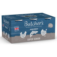 Butchers Super Senior Cans in Loaf Wet Dog Food 390g x 6
