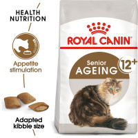 Royal Canin Ageing 12+ Dry Adult Senior Cat Food 4kg