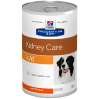 Hills Prescription Diet KD Kidney Care Dog Food 370g x 12