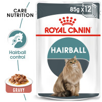 Royal Canin Hairball Care in Gravy Adult Wet Cat Food 85g x 12