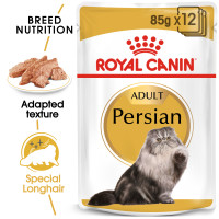 Royal Canin Persian in Loaf Adult Wet Cat Food Pouches 85g x 12