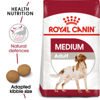 Royal Canin Medium Adult Dry Dog Food 15kg x 2
