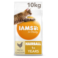 IAMS for Vitality Chicken Hairball Control Adult Cat Food