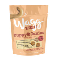 Wagg Puppy and Junior Dog Treats 120g