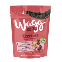 Wagg Tasty Bones with Chicken & Liver Dog Biscuits 150g