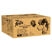 Felix As Good As It Looks Mixed Selection Senior Cat Food