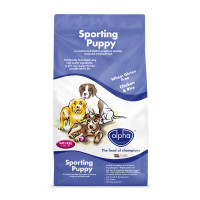 Alpha Sporting Puppy Food 15kg