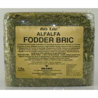 Gold Label Alfalfa Fodder Bric Horse Supplement