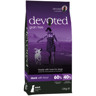 Devoted Duck with Trout Adult Dog Food