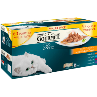 Gourmet Perle Chefs Collection Cat Food