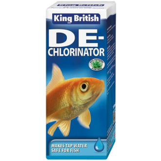 King British Safe Guard Aquarium De-Chlorinator