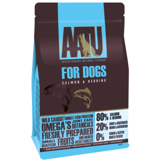 AATU 80/20 Salmon & Herring Adult Dog Food