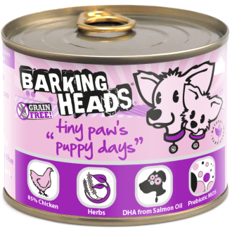 Barking Heads Tiny Paws Puppy Days Wet Puppy Food