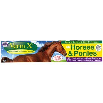 Verm X Herbal Pellets for Horse