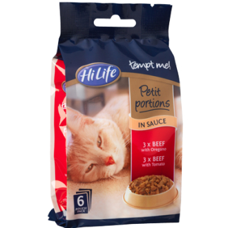 Hilife Tempt Me! Petit Portions Beef In Sauce Recipes Adult Cat Food