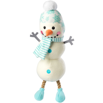 House of Paws Snowman Dog Toy 44cm