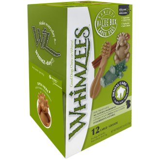 Whimzees Variety Box Dog Chew Treats