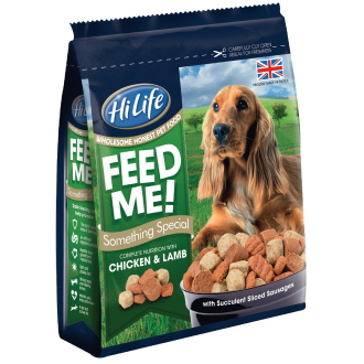 HiLife Feed Me! Something Special Chicken & Lamb Semi-Moist Dog Food