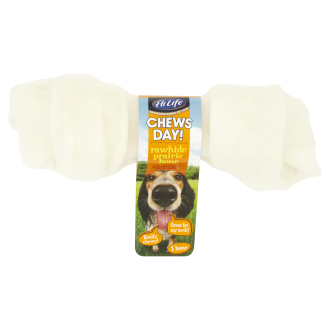 HiLife Chews Day! Rawhide Prairie Bone Dog Treat