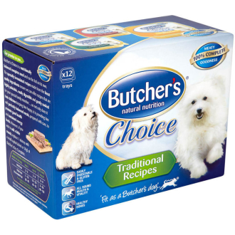 Butchers Choice Traditional Recipes Dog Food