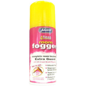 Johnsons 4Fleas Fogger With IGR Flea Killer