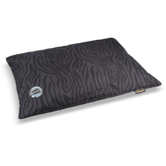 Scruffs Expedition Memory Foam Pillow Dog Bed Grey & Black