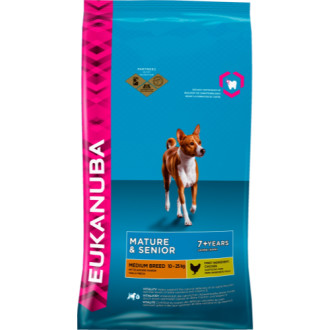 Eukanuba Chicken Medium Breed Mature & Senior Dog Food