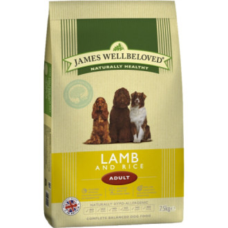 James Wellbeloved Lamb & Rice Adult