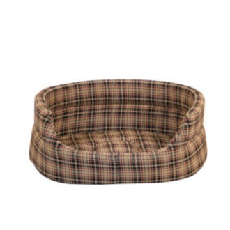 Danish Design Classic Check Slumber Dog Bed