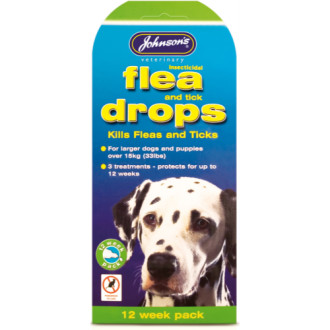 Johnsons Flea Drops for Dogs & Puppy