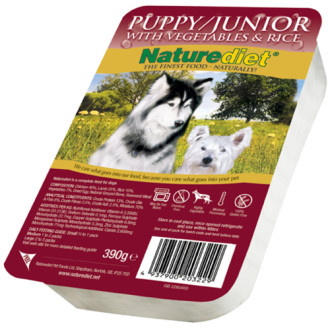 Naturediet Chicken & Lamb Puppy Junior Food