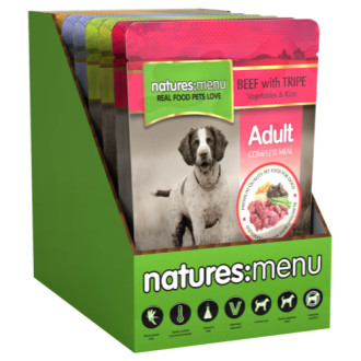 Natures Menu Multipack Adult  Pouches