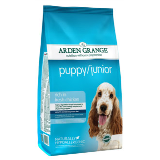 Arden Grange Chicken & Rice Puppy & Junior Dog Food