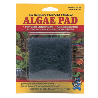Hand Held Algae Pad For Glass