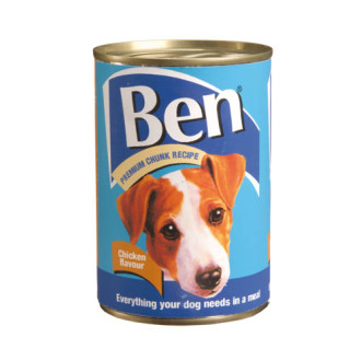 Ben Premium Chunks Chicken Dog Food