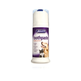 Johnsons Toothpaste Triple Action for Dogs and Cats