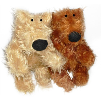 Good Boy Squeaky Fluffy Bear Dog Toy