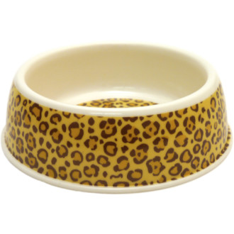 Rosewood Deluxe Melamine Leopard Print Bowl