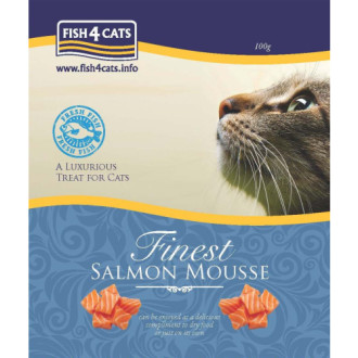 Fish4Cats Finest Salmon Mousse Cat Food